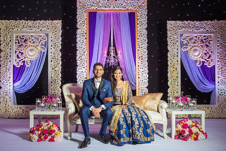 Enchanting Indian Couple Potrait