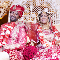 Christena and Ravi's Indian wedding in Miami, Florida by Fine Art Productions