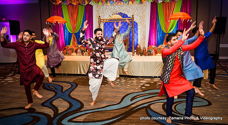 Lovely Capture by Zamana Photo and Videography of Indina Groom' Dance Performance