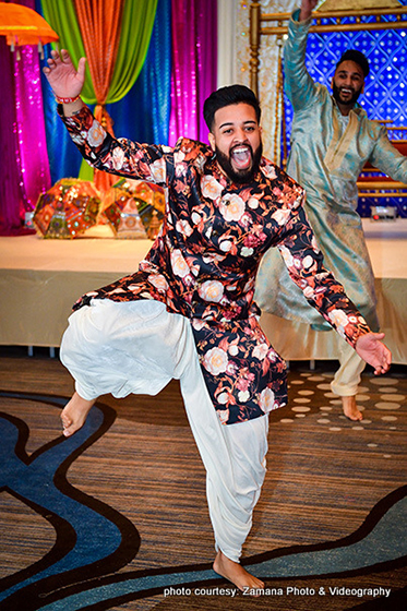 Indian Groom's Capture by Zamana Photo and Videography