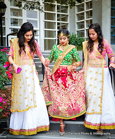 Indian Bride Going for outside Photoshoot by Zamana Photo & Videography