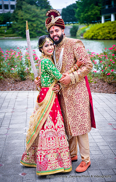Adorable Indian Lovebrirds Potrait