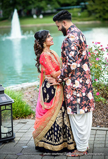 Stunning Capture of Indian Bride and Groom