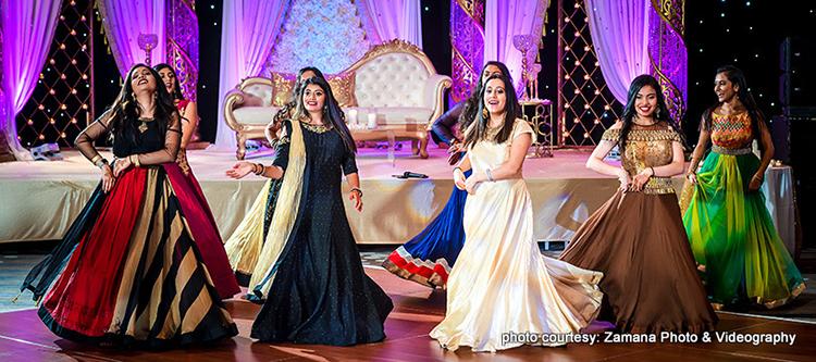 Phenominal indian bridesmaids dance