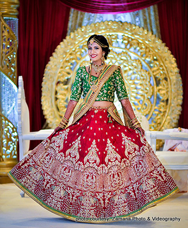 Indian Bride in Marvelous Wedding Outfit Capture