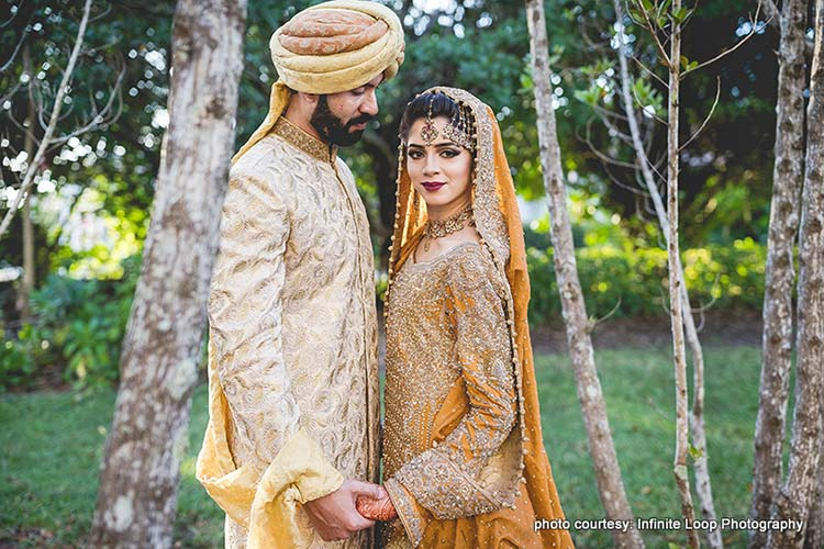Incredible Portrait of Indian Couple at Outdoor Photoshoot