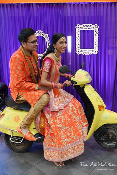 Pre-Wedding Photoshoot of Indian Couple