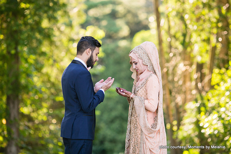 Couple Praying for their bright future ahead