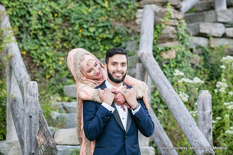 Photoshoot before the wedding