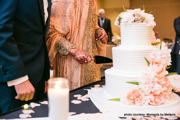 Engagement Cake cutting ceremony