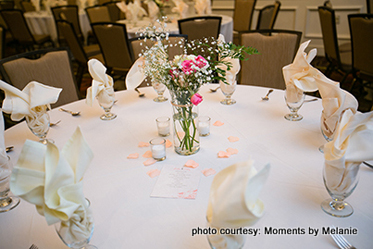 Floral Decor of the table