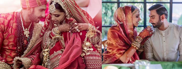 Deepika is a South Indian and Ranveer is of Sindhi-Punjabi origin