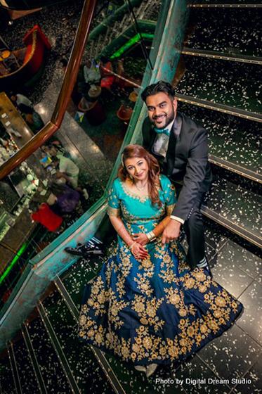 Indian Wedding Reception Photoshoop