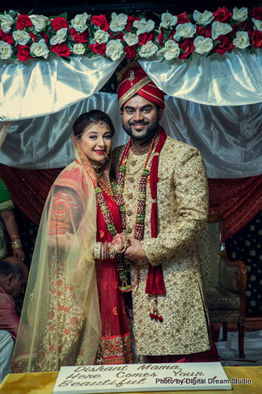 Beautiful capture of indian couple