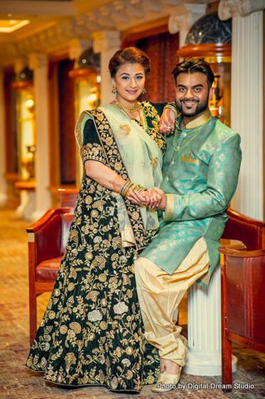 Joyful shot of Indian Couple