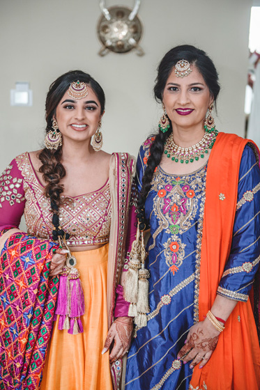 Indian Bride ready for her Sangeet Ceremony