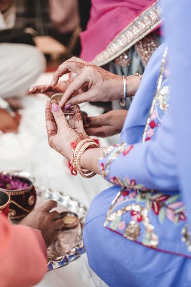 Indian Bride's Sindoor