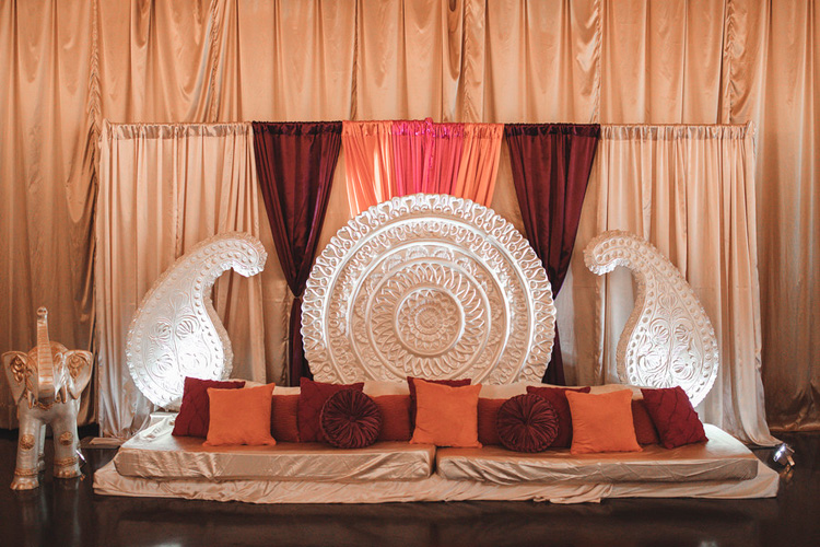 Perfect Decoration arraged for Sangeet Ceremony by You're Invited