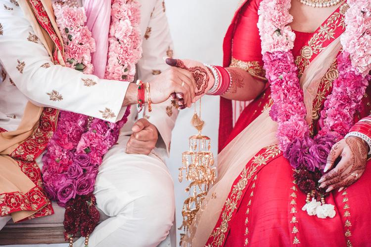 Indian Bride's Kanyadan Procession
