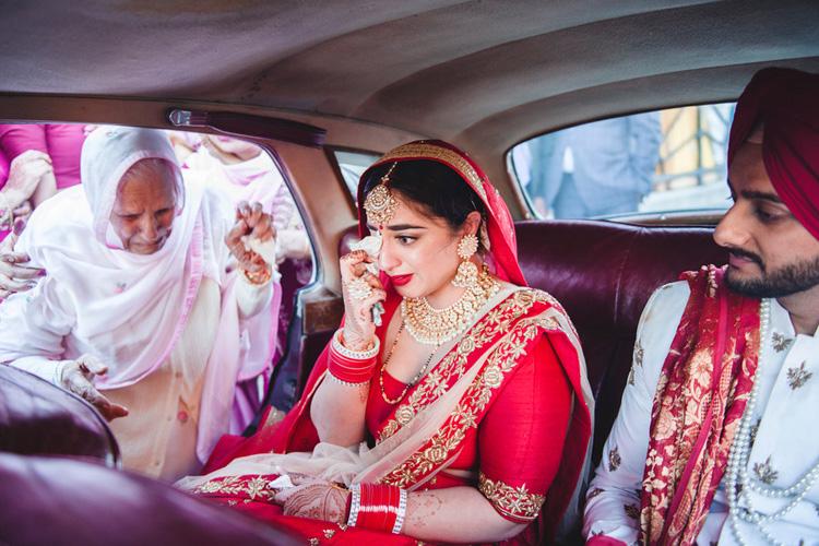 Indian Bride's Vedai Procession