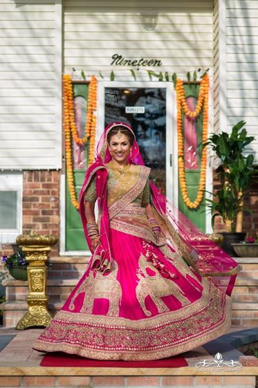 Gorgeous Indian Bride Photoshoot