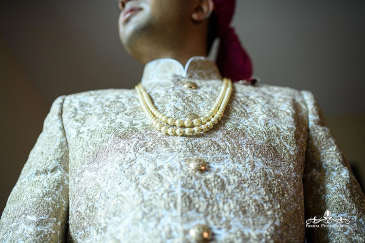 Indian Groom Getting Ready for his Wedding
