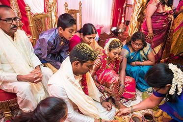 Traditional Ritual in Indian Wedding