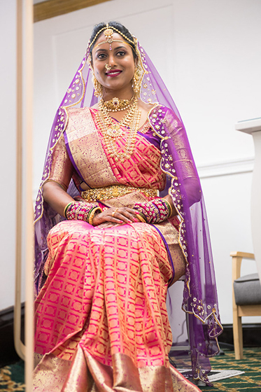 Perfect Indian Bride Make up and Dressing