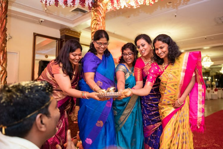 South Indian Wedding Procession