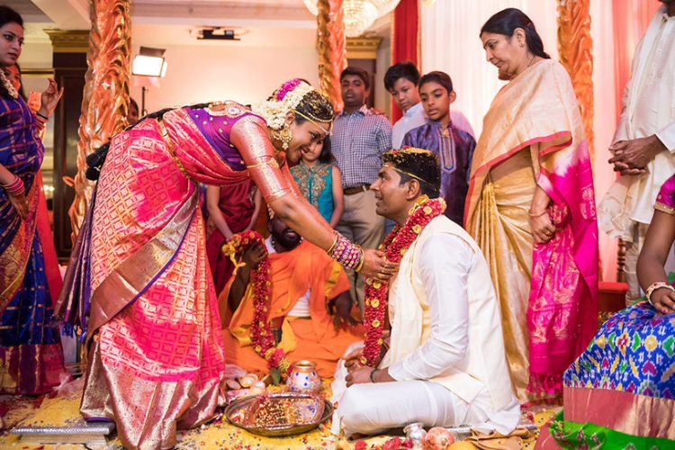 Indian Garland Ritual