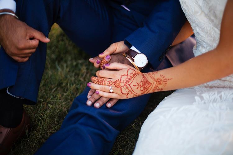 Beautiful Indian Bride Mahendi
