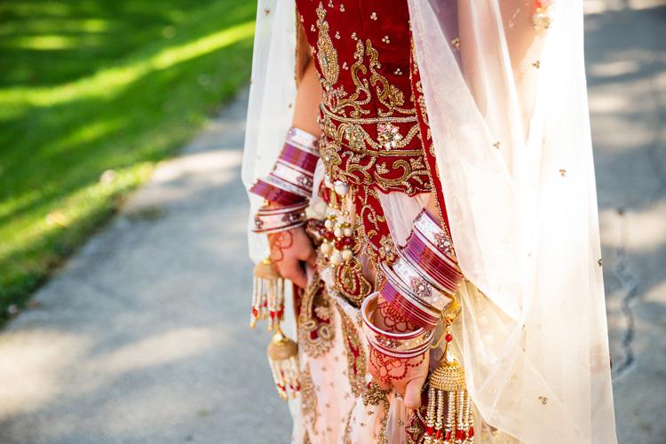 beautiful red long Dulhan kaliren!!