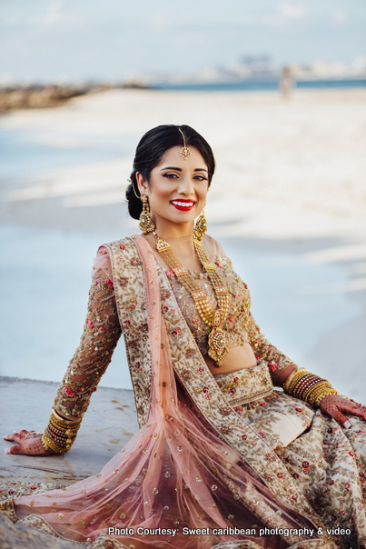 Amazing click of Indian Bride to be