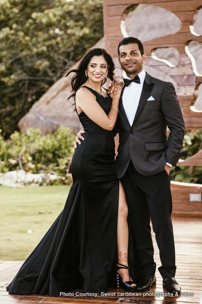 Gorgeous Indian couple