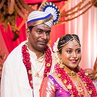 Sravanthy E and Krushidhar A's Indian Wedding in New York by ML Creative Studios LLC