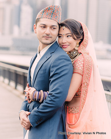 Indian Newly Weds Couple
