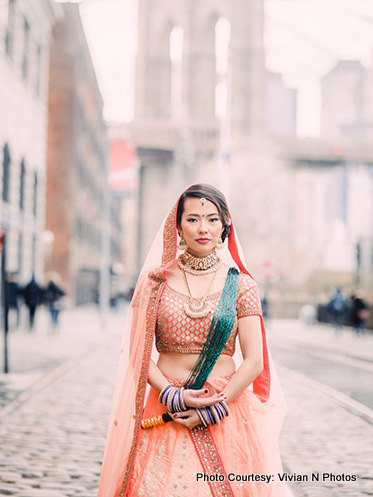 Indian Bride Wearing Indian Wedding Chuda