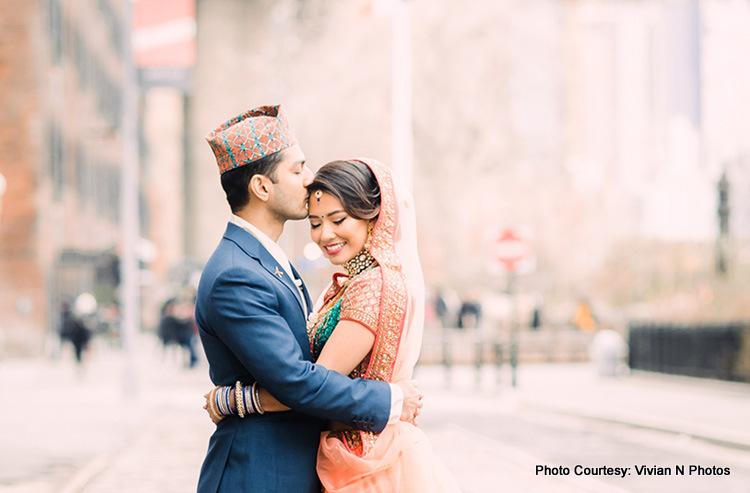 Indina Groom Kissing to Indian Groom