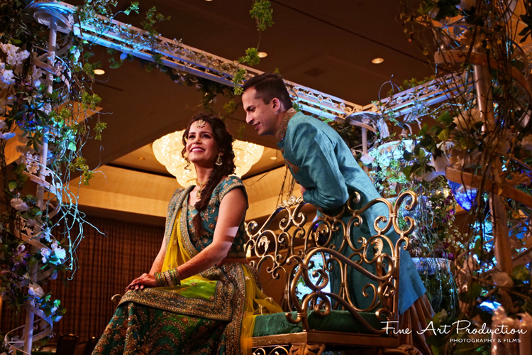 Indian Groom Romantic at first glance