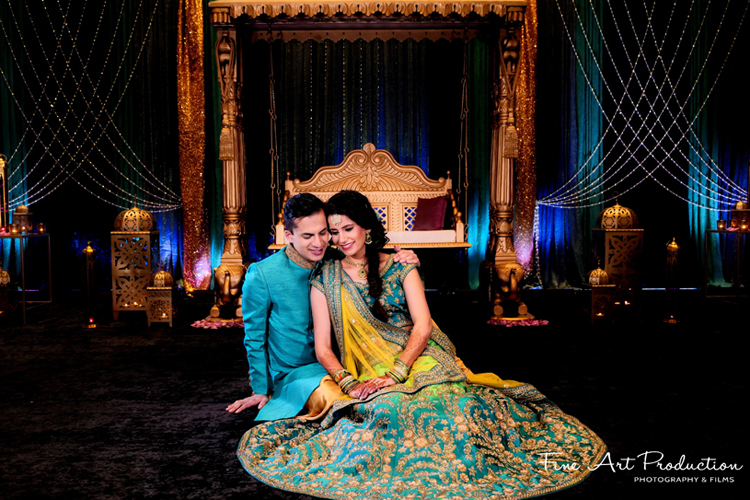 Heartwarming Moment between Indian Couple