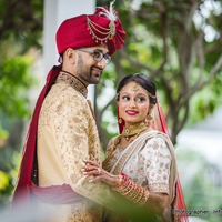 Khusbu weds Parth Indian Wedding in Hilton Palm Beach Airport  by Photo By Infinite Loop Photography