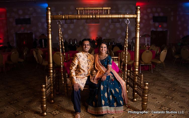 Rakhi Weds Ravi Indian wedding in Innisbrook Resort, Tampa Bay, Florida by Castaldo Studios LLC
