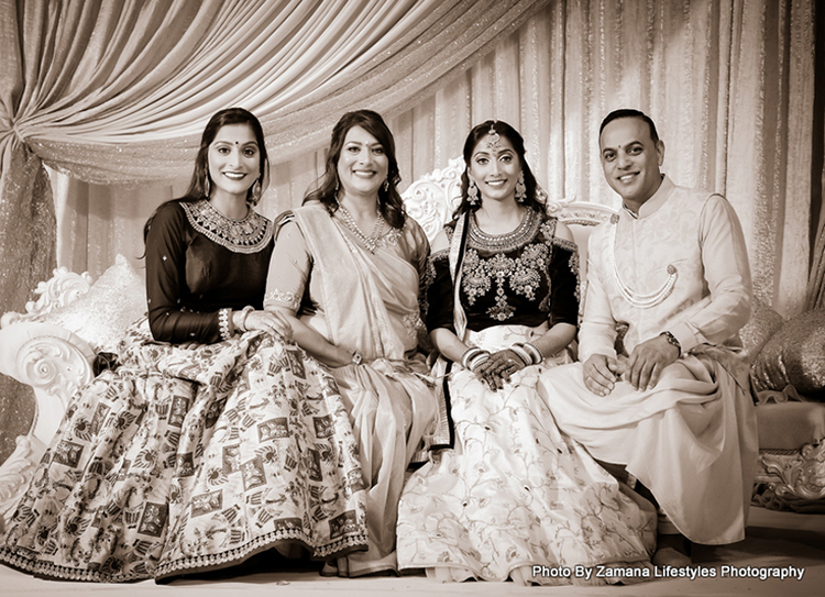 Indian Bride's Family
