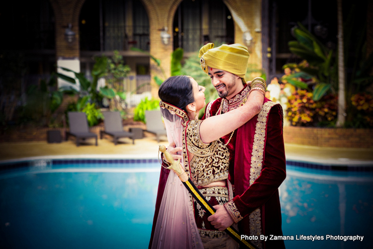Heartwarming Moment between groom and the bride