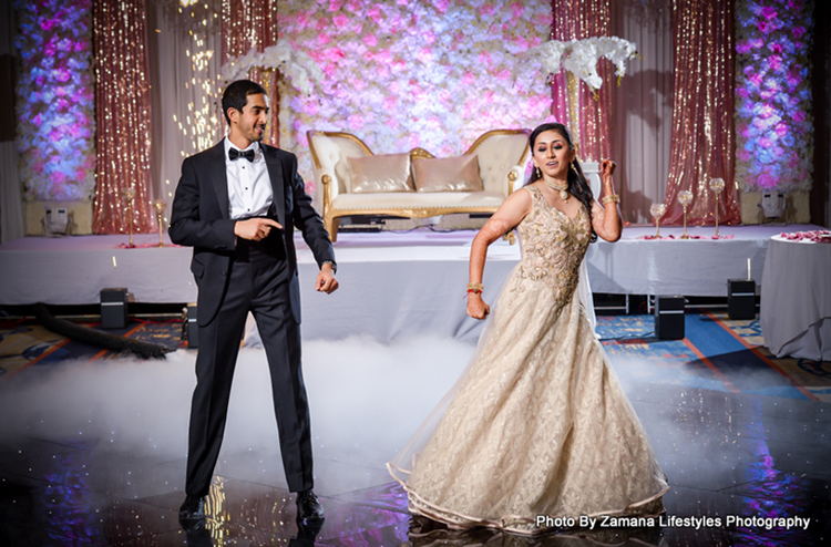 Enchanting Wedding Performance by the couple