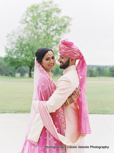 Indian Love birds posing for the photoshoot