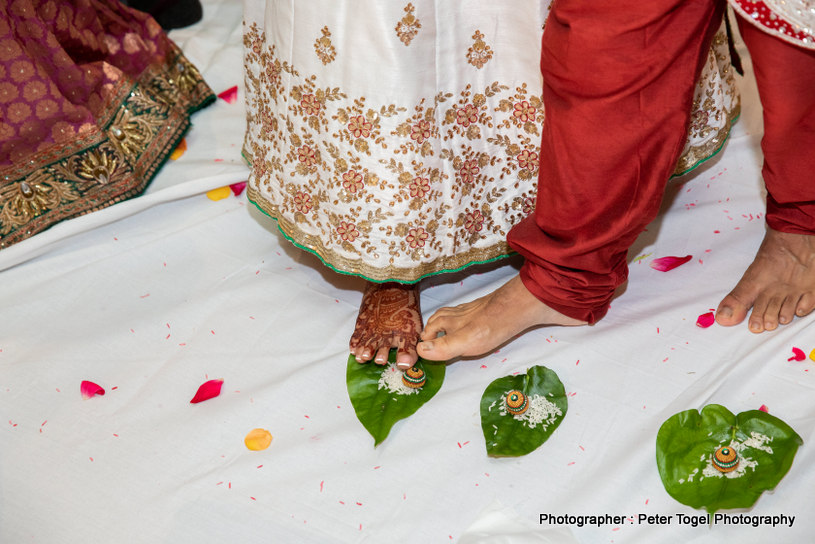 Indian Wedding Couple Dance