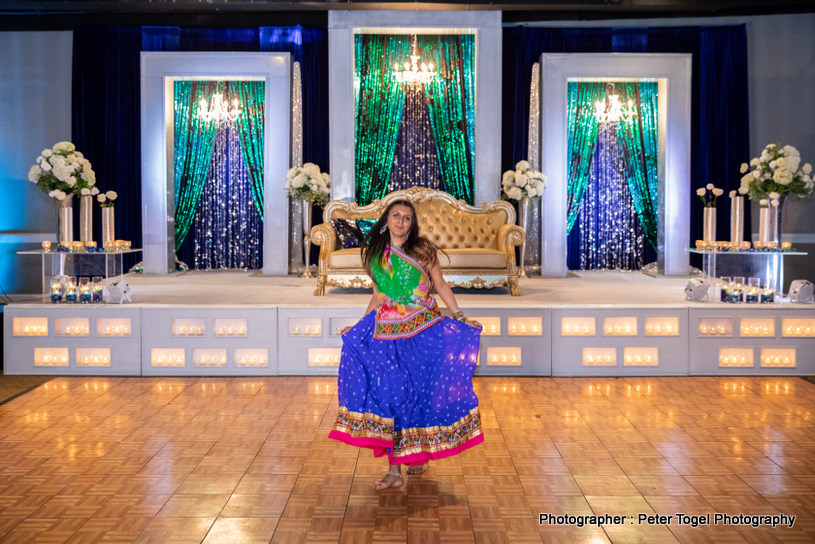 Majestic Indian Wedding Table setup