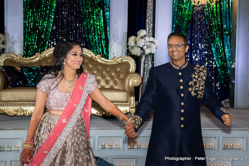 Jaina weds Umesh Indian Wedding at Ashiana Restaurant & Banquet Halls Photographed by Peter Togel Photography