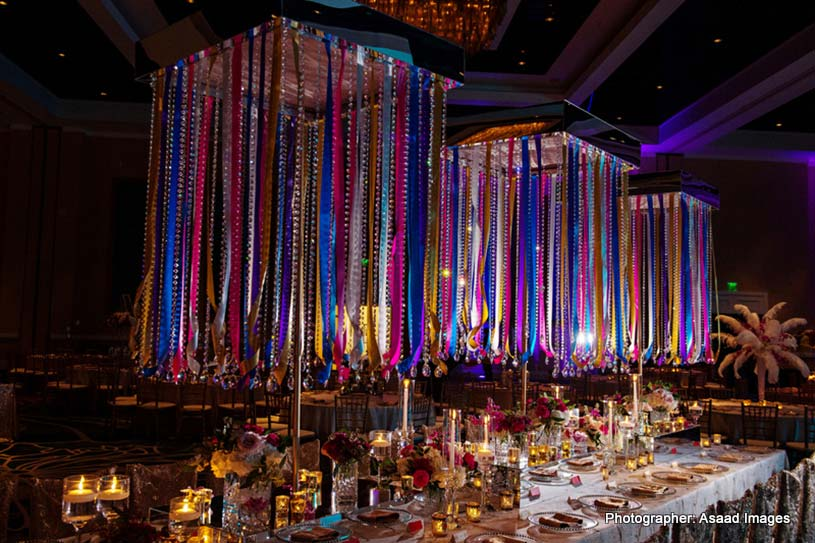 Indian Wedding Reception Deccoration
